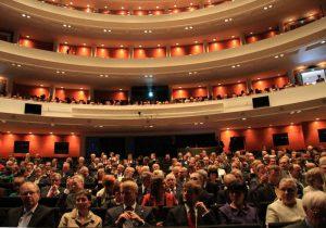 Die finnische Nationaloper bietet den stilvollen Rahmen für die Verleihung der Preise.