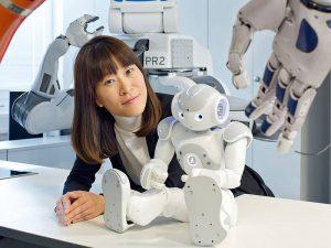 Dongheui Lee, TUM-Professorin für Dynamische Mensch-Roboter-Interaktion