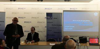 Siegmung Scigalla referiert im Internationalen PresseClub München zum Thema Augensicherheit