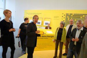 Gerrit Faust, Pressesprecher Deutsches Museum, mit TELI-Gästen (c) Goede