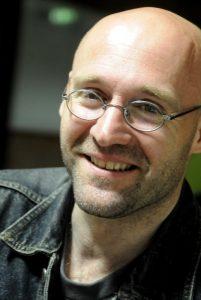Buchautor, Verleger und Science-Fiction-Aficionado Detlev Münch (c) synergen