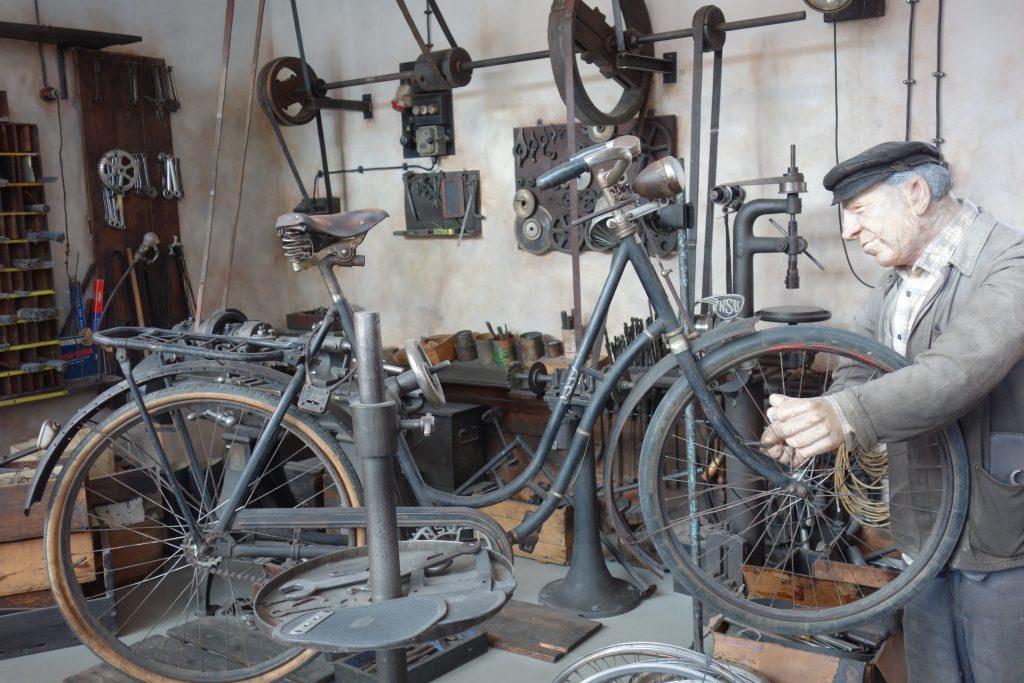 Alte Fahrradwerkstatt (c) Goede