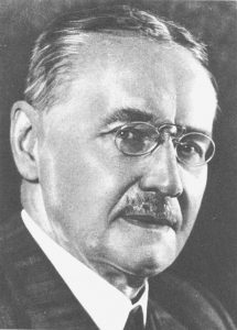 Bestsellerautor und TELI-Mitbegründer Hans Dominik um 1930 (c) synergen