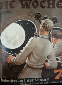 Reise zu den Planeten, auch Venus? 1934 in Die Woche (c) synergen