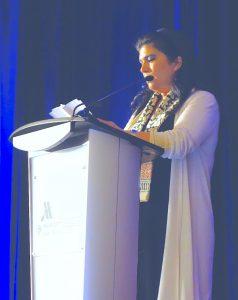 """""""Forscher, die nicht teilen, haben hier nichts verloren"""": Jordaniens Prinzessin Sumava bint el Hassan (c) Goede"""