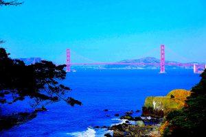 Tor zum globalen Osten, Westen, Süden, Norden: Golden Gate San Francisco (c) Goede