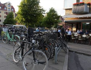 Fahrräder prägen das Stadtbild (Bild: Dörte Sasse)