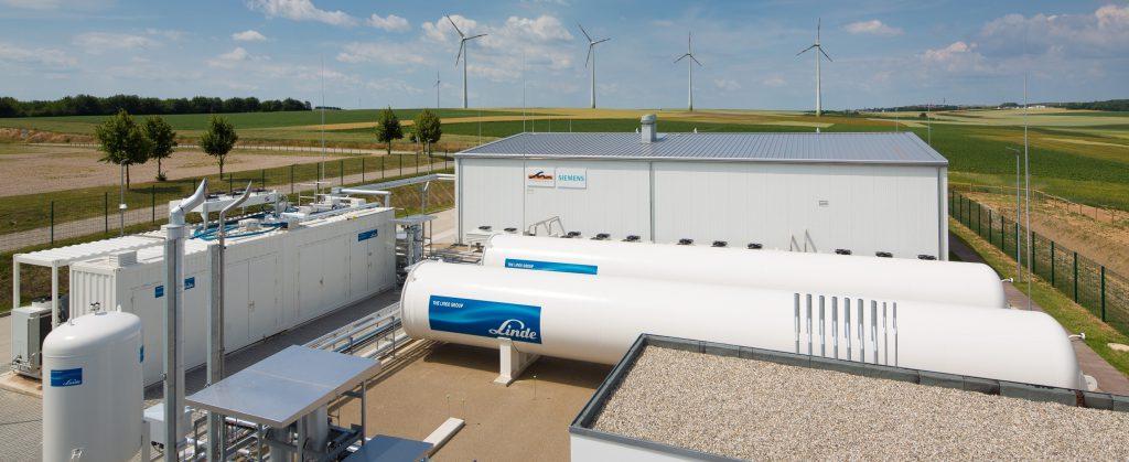 Energiepark Mainz Siemens Linde Stadtwerke Mainz Anlagenfotos 26. Juni 2015. Quelle. Mainzer Stadtwerke AG